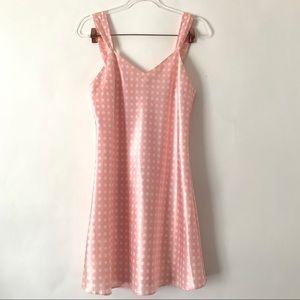 Evandale Intimates Light Pink Silky Night Dress